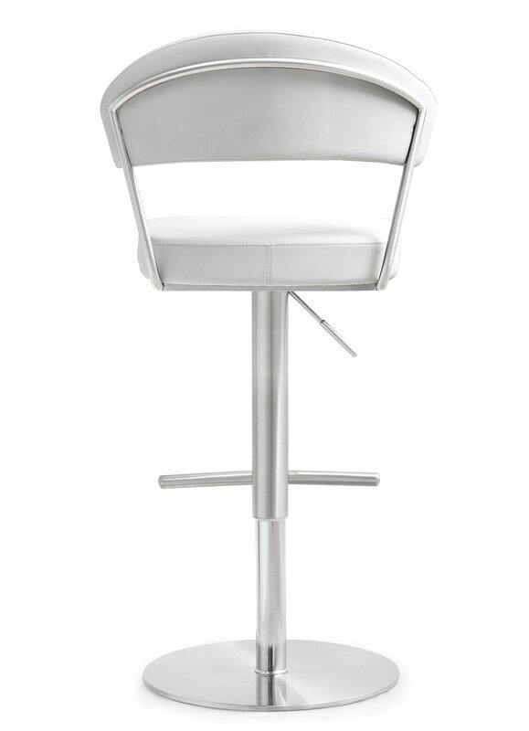 Kerry Adjustable Height Swivel Bar Stool Amp Reviews Birch