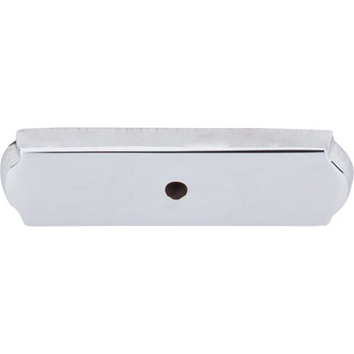 Aspen II Rectangle Backplate by Top Knobs