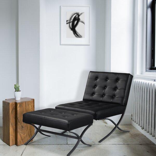 Shiflett Lounge Chair and Ottoman by Ivy Bronx
