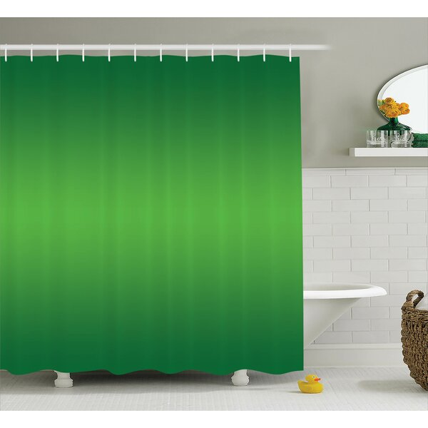 Inspired Tropic Sea Nature Decor Print Shower Curtain by Ebern Designs