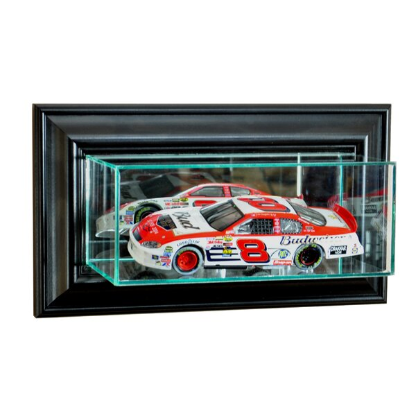 Wall Mounted NASCAR Display Case by Perfect Cases and Frames