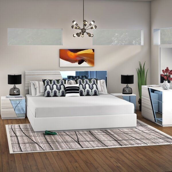 Nikhat Platform 5 Piece Bedroom Set by Orren Ellis