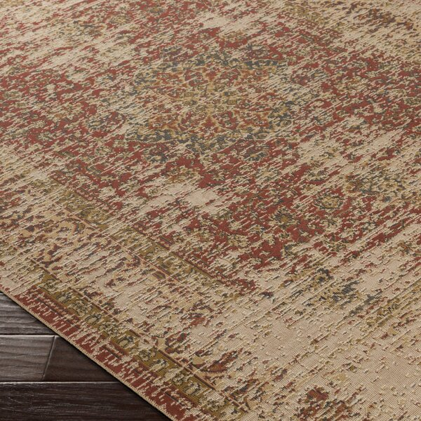 Cerys Brown Area Rug by Bloomsbury Market