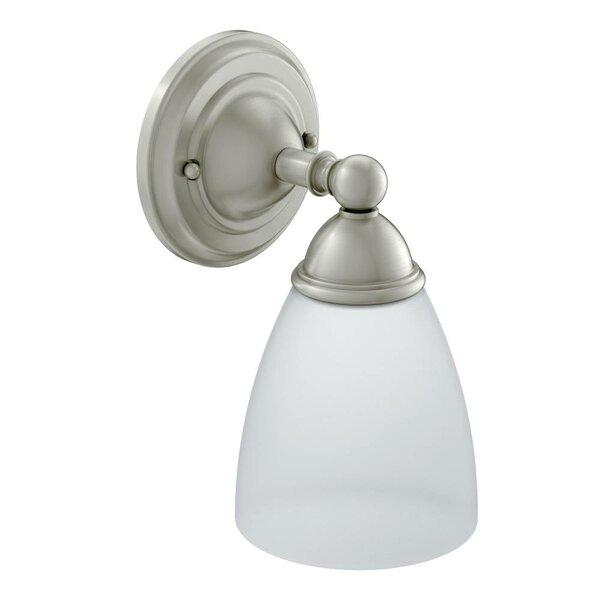 Brantford 1-Light Bath Sconce by Moen