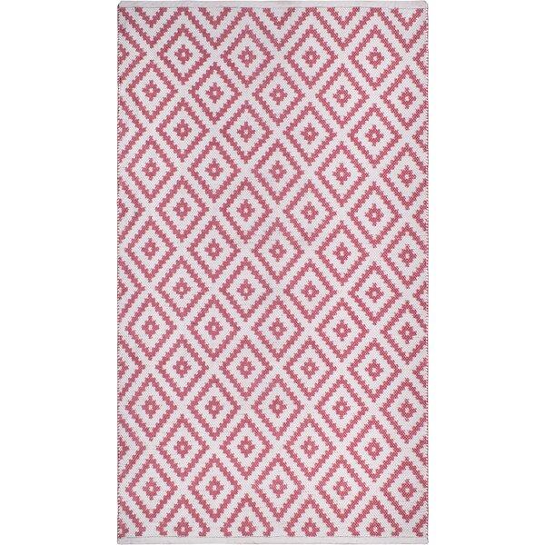 Huddleston Pink/Beige Indoor/Outdoor Area Rug by Union Rustic