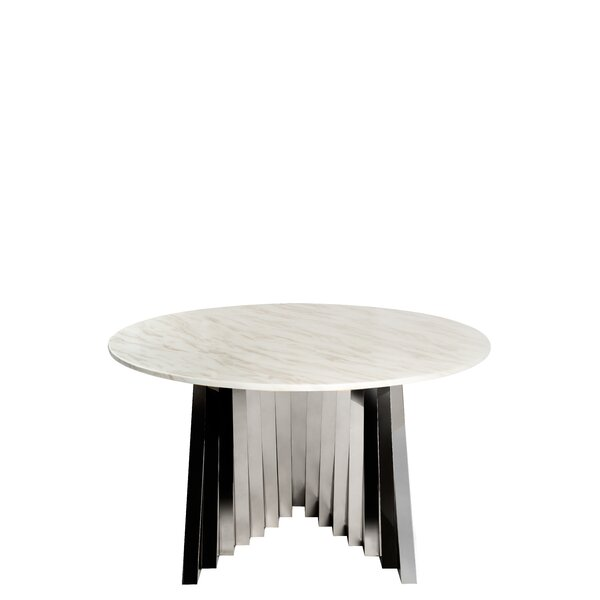 Nailsworth Marble Dining Table by Everly Quinn