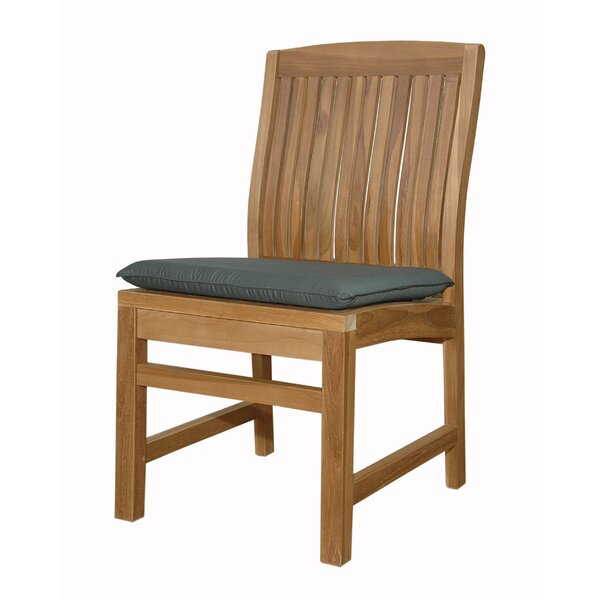 Mccarty Teak Patio Dining Chair by Rosecliff Heights