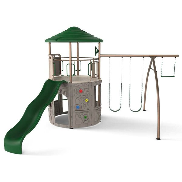 Adventure Tower Swing Set by Lifetime