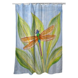 Ronald Dragonfly Shower Curtain
