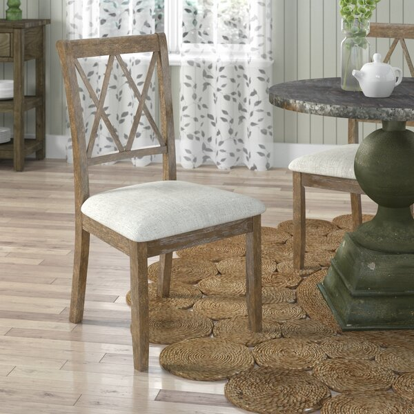 Boutin Upholstered Dining Chair (Set of 2) by Gracie Oaks