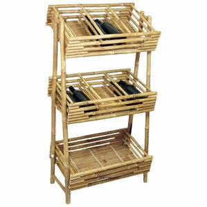 Knock Down 36 Bottle Floor Wine Rack by Bamboo54
