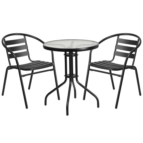 Ridley 3 Piece Bistro Set by Breakwater Bay