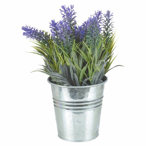 Artificial Lavender Desktop Plant in Pot Symple Stuff