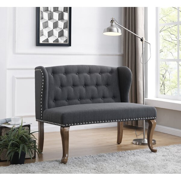 Cowles Tufted Standard Loveseat by Darby Home Co
