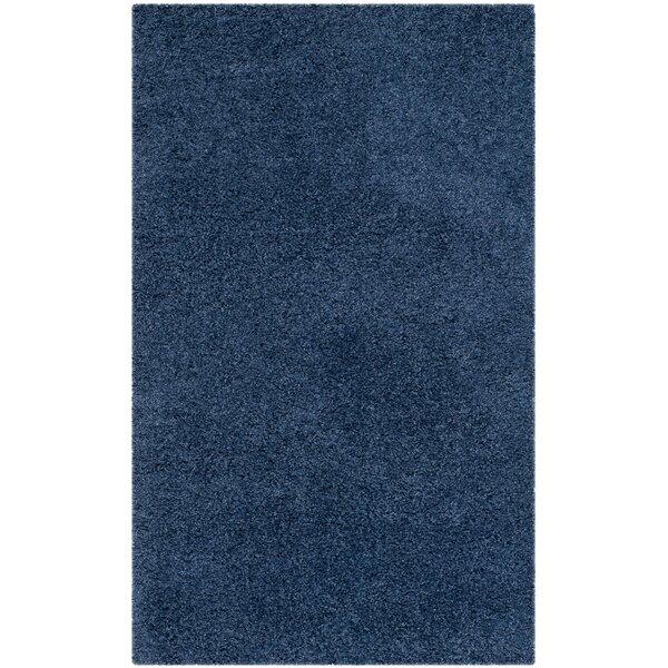 Van Horne Blue Area Rug by Wrought Studio