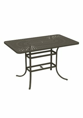 LaStratta Aluminum Bar Table By Tropitone by Tropitone Today Sale Only