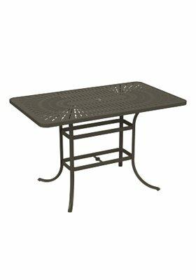 LaStratta Aluminum Bar Table By Tropitone by Tropitone Cheap