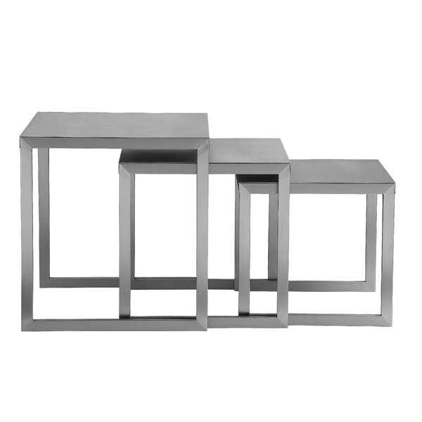 Glenmore 3 Piece Nesting Tables by Orren Ellis