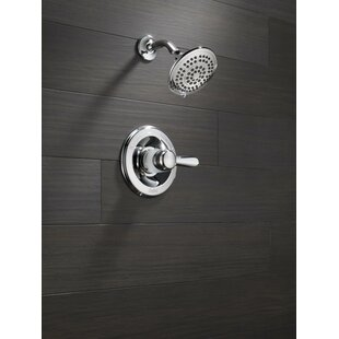 Find for Lahara Thermostatic Shower Faucet Trim with Lever Handles and H2okinetic Technology ByDelta