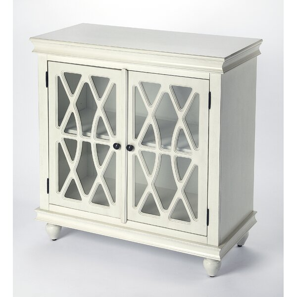 Lansing 2 Door Accent Cabinet by Ophelia & Co.