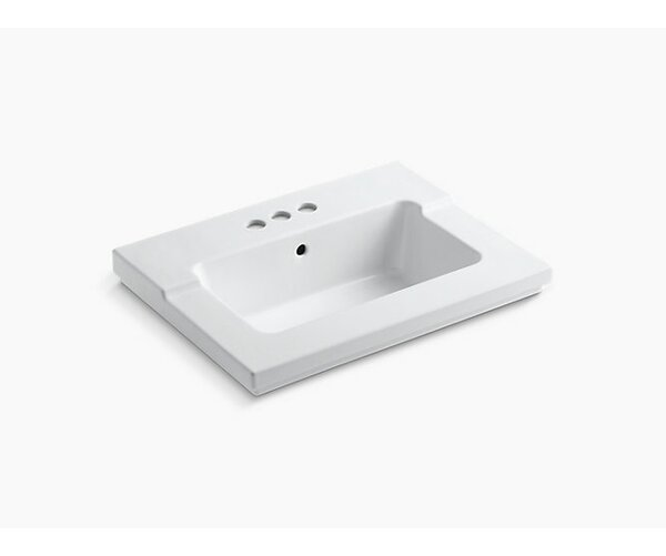 Tresham Top & Basin 4C - White by Kohler