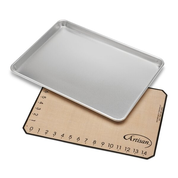 2 Piece Medium Baking Sheet and Mat Set by Artisan