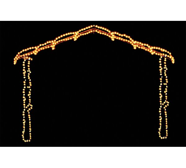 Nativity Scene Hut LED Light by Brite Ideas