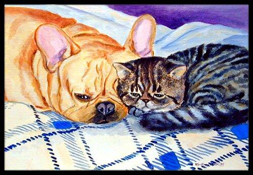 Cat Doormat by Caroline's Treasures