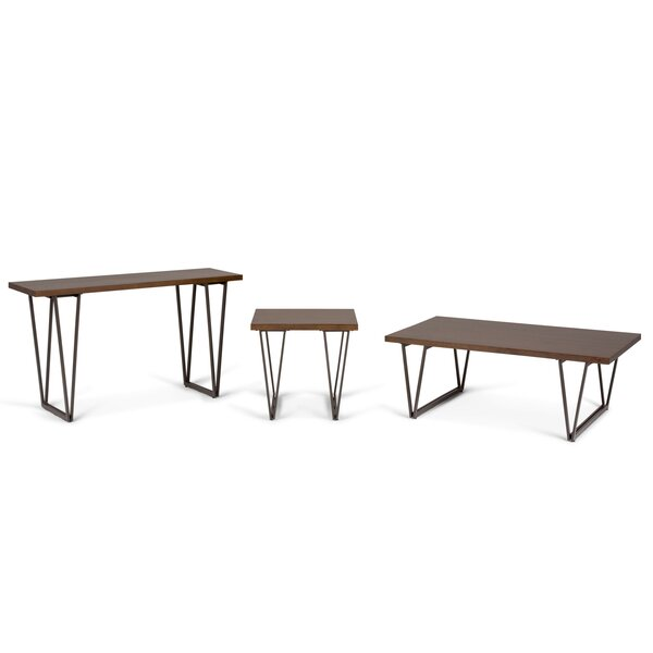 Sturgis 3 Piece Coffee Table Set by Williston Forge