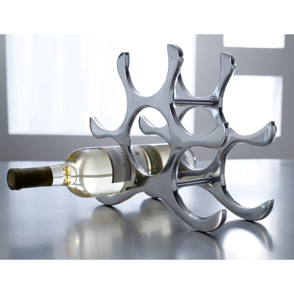 6 Bottle Tabletop Wine Rack by Kindwer
