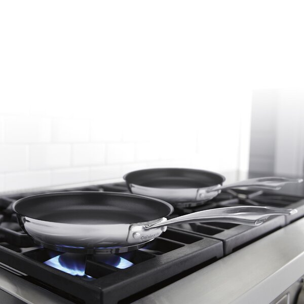 Professional Series 2 Piece Non-Stick Skillet Set by Cuisinart