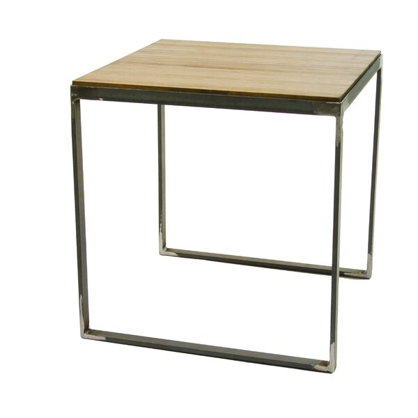 Madhav End Table by 17 Stories