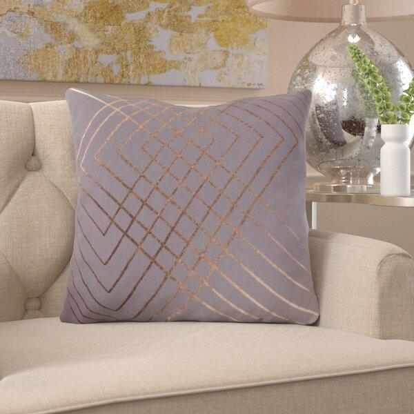 Caressa Geometric Cotton Throw Pillow by Willa Arlo Interiors