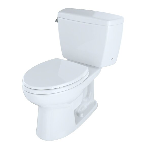 Drake 1.6 GPF Elongated Two-Piece Toilet (Seat Not Included) by Toto