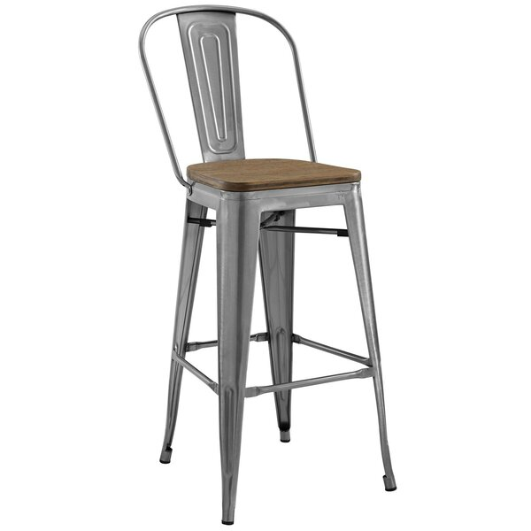 Ashlyn Industrial 30 Bar Stool by Williston Forge
