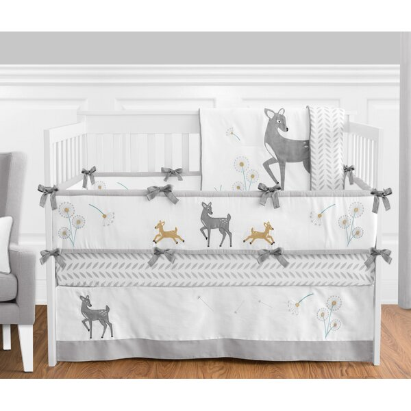 Forest Deer 9 Piece Crib Bedding Set by Sweet Jojo Designs