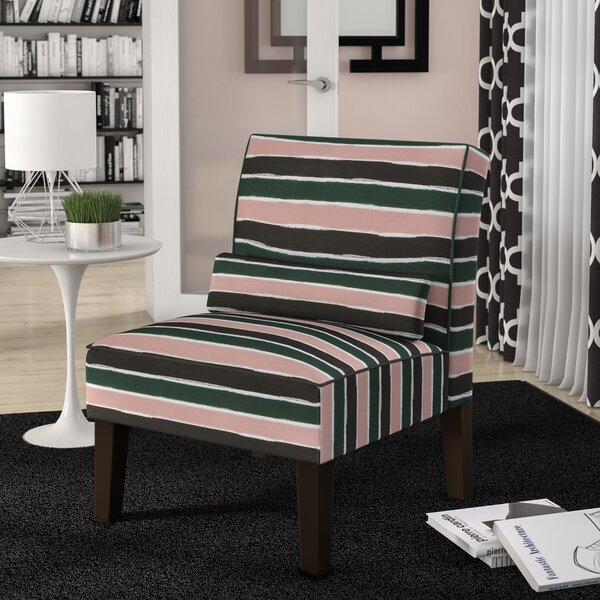 Wampler Slipper Chair by Brayden Studio
