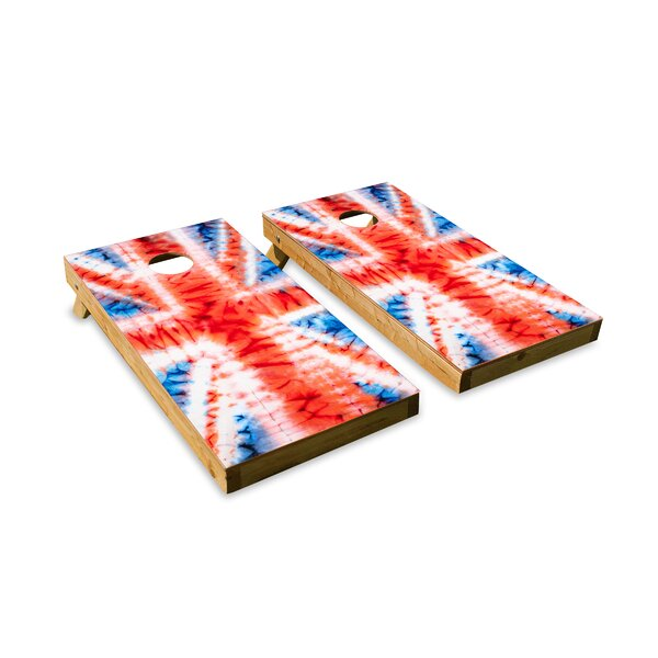 Union Jack-ed Up Cornhole Board (Set of 2) by The Cornhole Crew