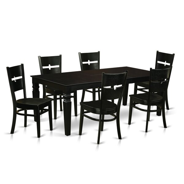 Davy 7 Piece Dining Set by Latitude Run
