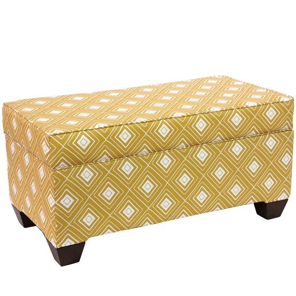 Pabst Linen Upholstered Storage Bench by Brayden Studio