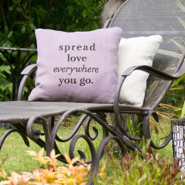 Spread Love Indoor/Outdoor Throw Pillow