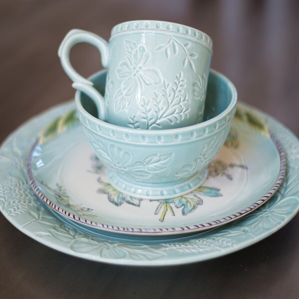 English Garden Mug (Set of 4) by Fitz and Floyd