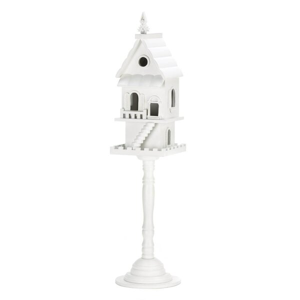 Victorian 27.5 in x 6.5 in x 6.5 in Birdhouse by Zingz & Thingz