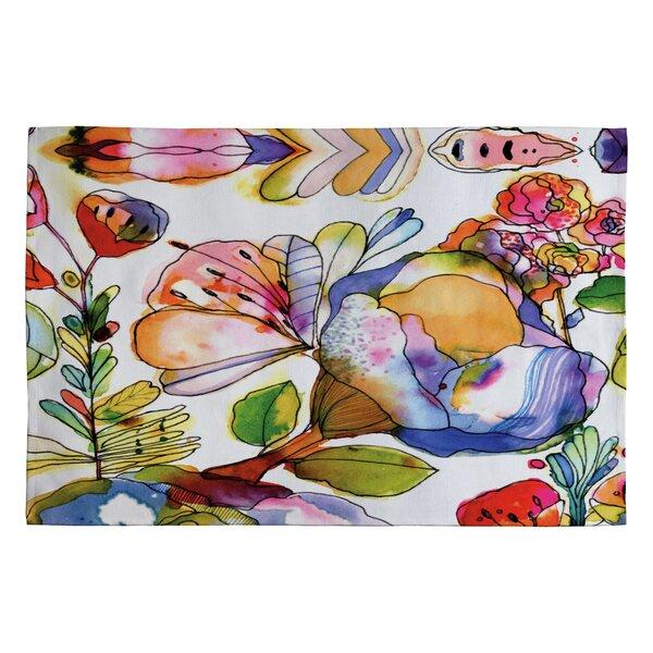 Cayenablanca Blossom Pastel Novelty Rug by Deny Designs