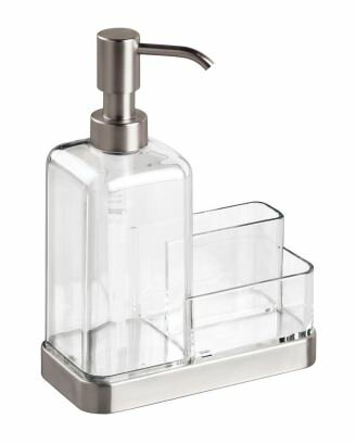Forma Caddy and Soap Dispenser by Wilton