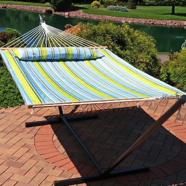 Antoine Double Spreader Bar Hammock By Freeport Park