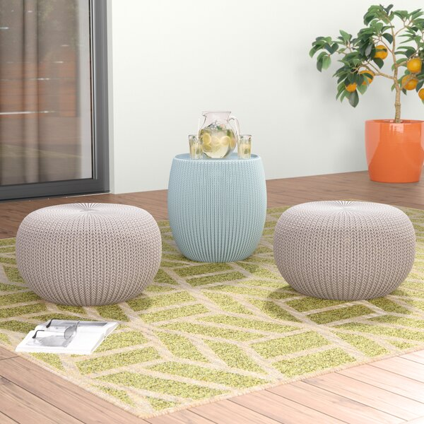 Cliona 3 Piece Accent Stool Set by Ivy Bronx