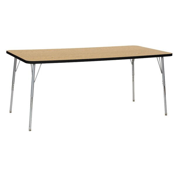 Contour Thermo-Fused Adjustable 36 x 72 Rectangular Activity Table by ECR4kids