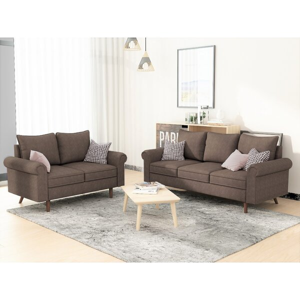 Looking for Cyr 2 Piece Living Room Set (Set Of 2) By Wrought Studio New Design