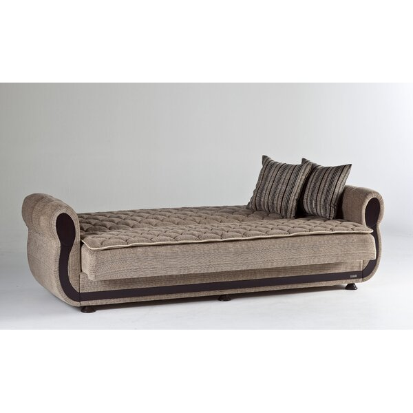 Schmeling 90.5'' Rolled Arm Sleeper By Darby Home Co